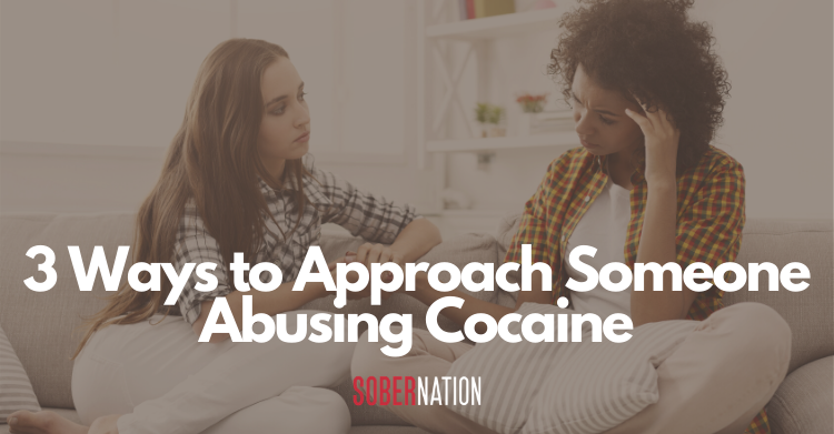 abusing cocaine